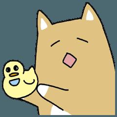 Japanese dog, Akita , Shiba inu Sticker