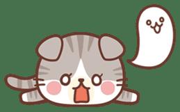 Fluffy Scottish Fold2 sticker #14486561