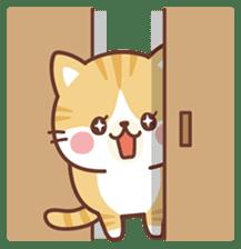Fluffy Scottish Fold2 sticker #14486573