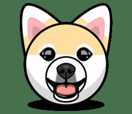 Puppy Love Stickers - Pom Emoji Meme sticker #14487190