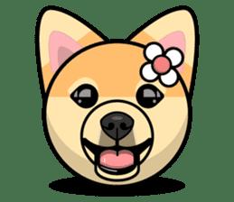Puppy Love Stickers - Pom Emoji Meme sticker #14487191