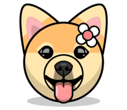 Puppy Love Stickers - Pom Emoji Meme sticker #14487193
