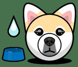 Puppy Love Stickers - Pom Emoji Meme sticker #14487194