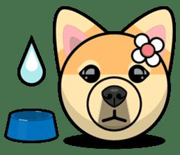Puppy Love Stickers - Pom Emoji Meme sticker #14487195