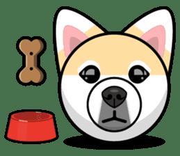 Puppy Love Stickers - Pom Emoji Meme sticker #14487196