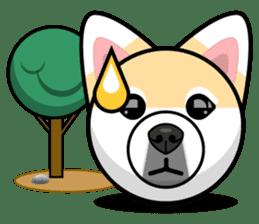 Puppy Love Stickers - Pom Emoji Meme sticker #14487198