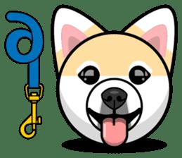Puppy Love Stickers - Pom Emoji Meme sticker #14487200