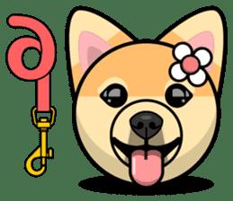Puppy Love Stickers - Pom Emoji Meme sticker #14487201