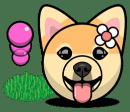 Puppy Love Stickers - Pom Emoji Meme sticker #14487203