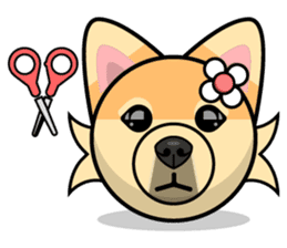 Puppy Love Stickers - Pom Emoji Meme sticker #14487207