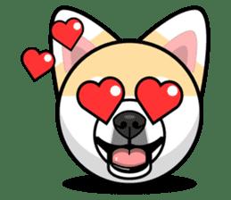 Puppy Love Stickers - Pom Emoji Meme sticker #14487208