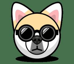 Puppy Love Stickers - Pom Emoji Meme sticker #14487210