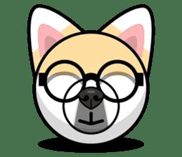Puppy Love Stickers - Pom Emoji Meme sticker #14487212