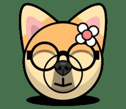 Puppy Love Stickers - Pom Emoji Meme sticker #14487213