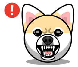 Puppy Love Stickers - Pom Emoji Meme sticker #14487216