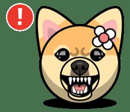 Puppy Love Stickers - Pom Emoji Meme sticker #14487217