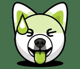 Puppy Love Stickers - Pom Emoji Meme sticker #14487220