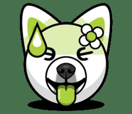 Puppy Love Stickers - Pom Emoji Meme sticker #14487221