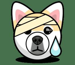Puppy Love Stickers - Pom Emoji Meme sticker #14487222