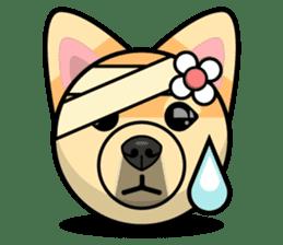 Puppy Love Stickers - Pom Emoji Meme sticker #14487223
