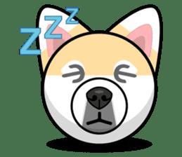 Puppy Love Stickers - Pom Emoji Meme sticker #14487224