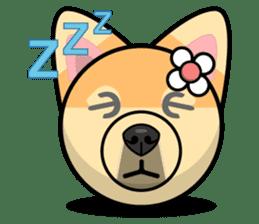 Puppy Love Stickers - Pom Emoji Meme sticker #14487225