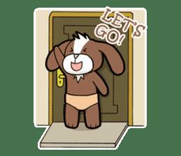 Poki Dog, OH My Friend! sticker #14495741