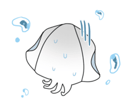 Cuttlefish Shinya sticker #14496568
