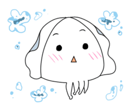 Cuttlefish Shinya sticker #14496569