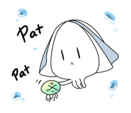 Cuttlefish Shinya sticker #14496595