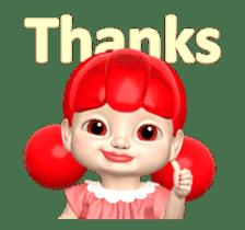Sugar Baby Jjelly : 3D animated ver.01 sticker #14502791