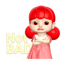 Sugar Baby Jjelly : 3D animated ver.01 sticker #14502793