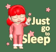 Sugar Baby Jjelly : 3D animated ver.01 sticker #14502796