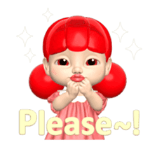 Sugar Baby Jjelly : 3D animated ver.01 sticker #14502799