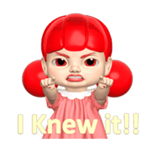 Sugar Baby Jjelly : 3D animated ver.01 sticker #14502800