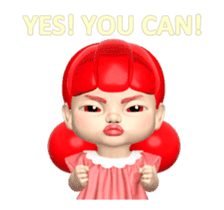 Sugar Baby Jjelly : 3D animated ver.01 sticker #14502802