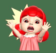Sugar Baby Jjelly : 3D animated ver.01 sticker #14502803