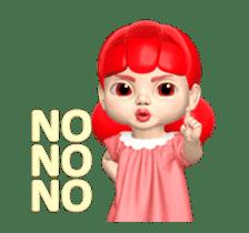 Sugar Baby Jjelly : 3D animated ver.01 sticker #14502806
