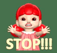 Sugar Baby Jjelly : 3D animated ver.01 sticker #14502807