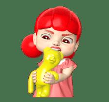 Sugar Baby Jjelly : 3D animated ver.01 sticker #14502810