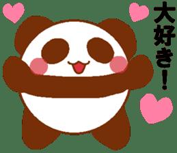 Love Peta[Panda] sticker #14517923