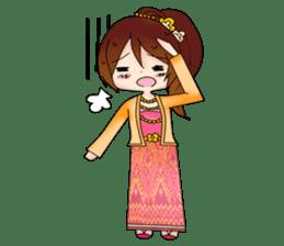 Miss Pretty Myanmar (Burmese/Myanmar) sticker #14523461