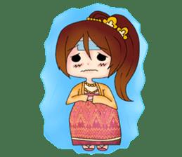 Miss Pretty Myanmar (Burmese/Myanmar) sticker #14523467