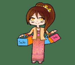 Miss Pretty Myanmar (Burmese/Myanmar) sticker #14523480