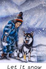 Shiba Inu Sisters and friends - 4 sticker #14536055