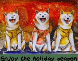 Shiba Inu Sisters and friends - 4 sticker #14536060