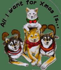 Shiba Inu Sisters and friends - 4 sticker #14536061