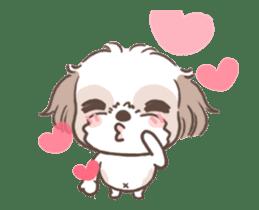 King & Bow 4 (Lovely Shih Tzu) sticker #14536703