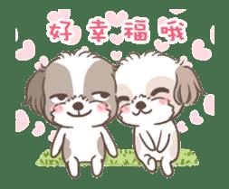 King & Bow 4 (Lovely Shih Tzu) sticker #14536704