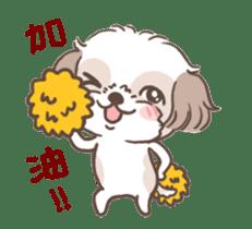 King & Bow 4 (Lovely Shih Tzu) sticker #14536709